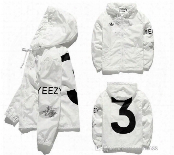 Yeezus Jacket Men Kanye West Hip Hop Windbreaker Ma1 Pilot Men's Jacket Tour Baseball Supremo Yeezus Jaqueta Masculina Jackets Size S-xxl