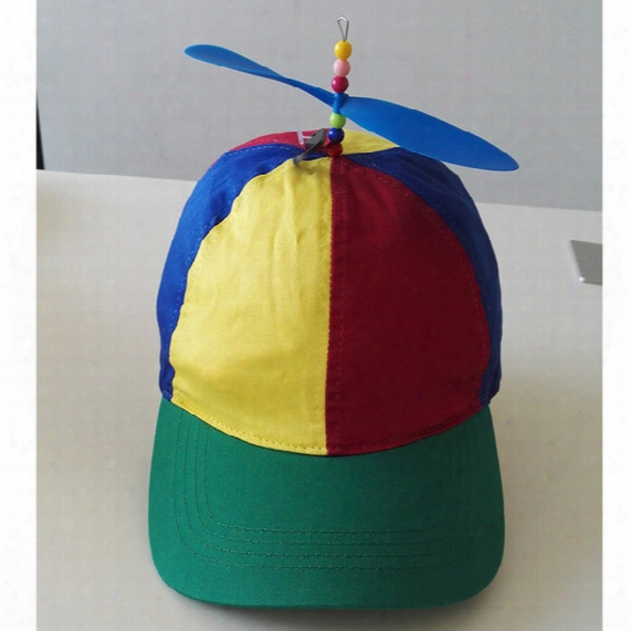 100% Cotton Baseball Cap For Kids Good Quality Helicopter Cap Funny Cap And Hat For Children Propeller Hat