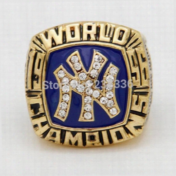1996 New York Derek Jeter Baseball Yankees World Championship Ring