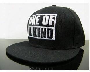 2014 Baseball Caps Gorras Letter Free Hats One Of A Kind Cap Bigbang G-dragon Hat Hip-hop Sale Designer Hip Hop Snapback Black