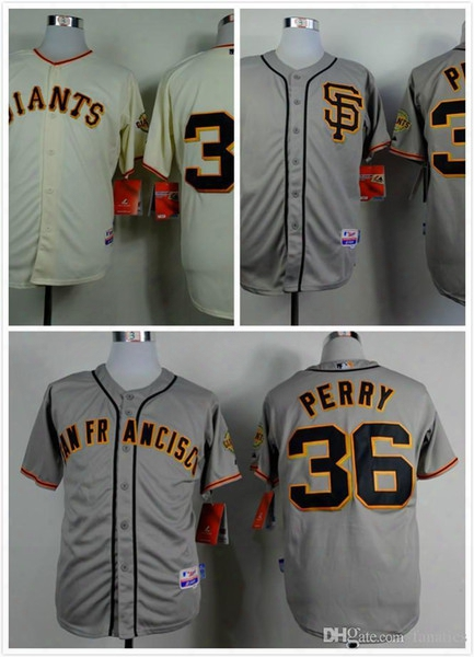 2015 New 2015 New Cheap Stitched San Francisco Giants Jersey #36 Gaylord Perry Men's Baseball Jersey