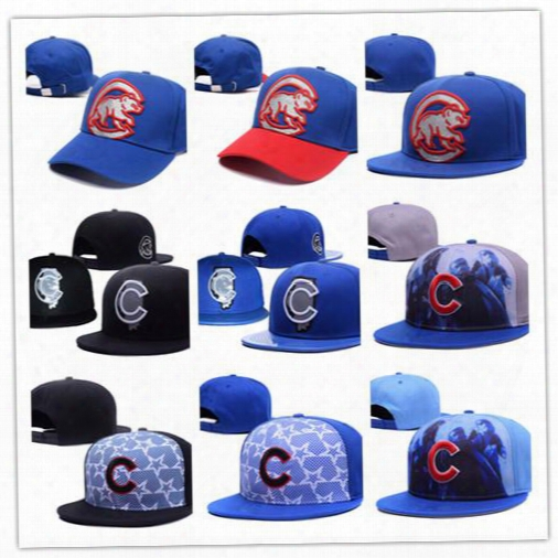 2017 New Style Fashion Mlb Chicago Cubs Baseball Caps Front Logo Alternate Adjustable Hat Wicks Away Adult Sport Cap Xd With Box Mix Order