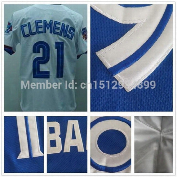 30 Teams- 21 Roger Clemens Jerseys Oakland Stitched Cheap Authentic Baseball Jerseys Sports Size 60 Wholesale Customize Green White