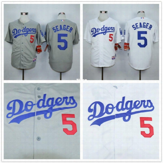 30 Teams- Corey Seager Jersey 2015 New Los Angeles Dodgers Authentic Jerseys Size Small ~ Xxxl Free Shipping