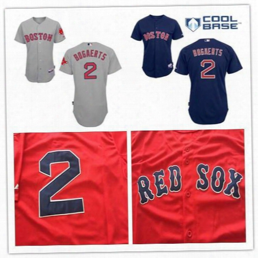 30 Teams-factory Outlet Mens Womens Kids Cheap Boston Red Sox 2 Xander Bogaerts Red Blue White Grey Flex Base Cool Base Baseball Jerseys