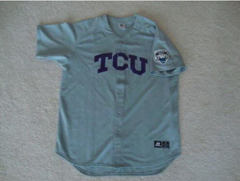 30 Teams- Tcu Horned Frogs Ncaa 2010 Cws College World Series Baseball Jersey S-3xl Retro/throwback Baseball Jerseys
