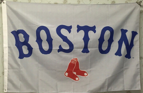 Boston Redsox Flag Baseball Team Flag Party Decoration Boston Redsox Banner Sports Fashion Accessiories Advertisement Flags Banners