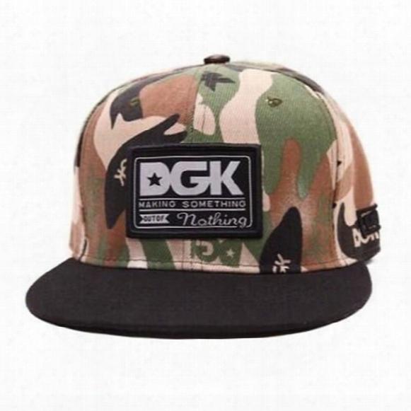 Camouflage Cap Unisex Baseball Caps Dgk Adjustable Snapback Gorras Hats For Men Fashion Cap Women 2017