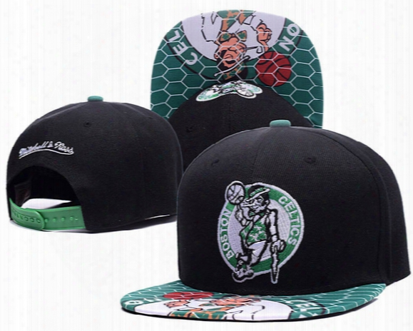 Hot Selling Men's Women's Basketball Snapback Baseball Snapbacks Boston Celtic Pierce Hats Man Sports Hat Flat Hip Hop Caps Thousands Styles