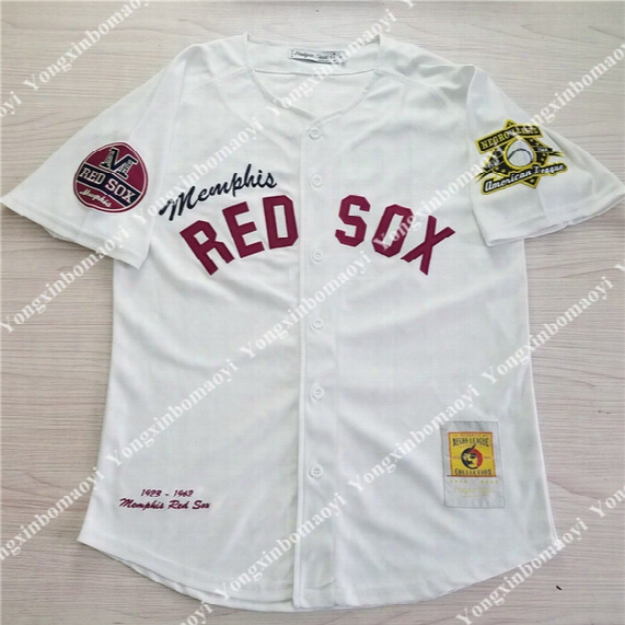 Men Women Youth Boston Red Sox #50 Mookie Betts Throwbakc 1923-1962 Memphis Red Sox American League Negro League Baseball Jersey Customize