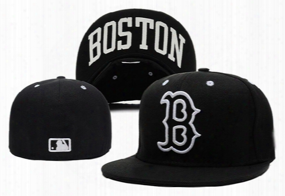 New Size Baseball Caps Red Sox Fitted Hats Woemens Mens Sports Snapback Fittedd Headwears