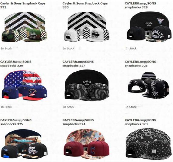 New Styles Cayler Sons Snapback Bones Brand Baseball Cap Fashion Bone Aba Reta Hip Hop Hat Cap Gorras Cap For Men