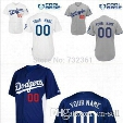 2016 New Custom Los Angeles Dodgers Baseball Jersey Customized Personalized Stitched Jerseys men's size small-4xl women's kids you