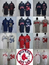 2017 Factory Outlet Mens Womens Kids Boston Red Sox 34 David Ortiz White Grey Blue Red Throwback Cheap Cool Flex Base Baseball Jerseys