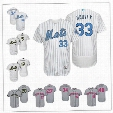 Customized New York Mets White 2017 Father Mother Memorial Independence Day Sewn On Any Name Number Mens Flex Base Baseball Jerseys S-4XL