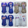 David Wright baseball jersey Women's New York Mets #5 David Wright White Home Stitched MLB Majestic cool Base Jersey