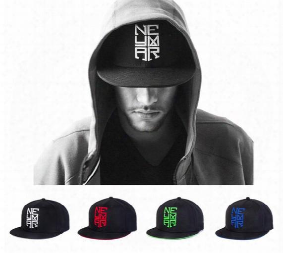 Wholesale- 2016 Hot Sale Letter Embroidered Neymar Baseball Cap Hat For Men Women Sports Adjustable Hip Hop Jr Outdoor Snapback Hats Caps