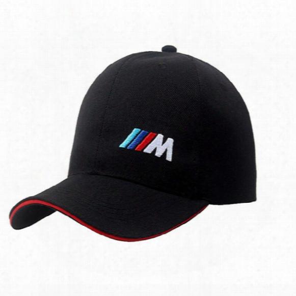 Wholesale- Lanzoom2017 Men's Women's Racing Baseball Cap M Series Rally Motorcycle Gp Hat Sun Cap Truck Driver Cap Adjustable
