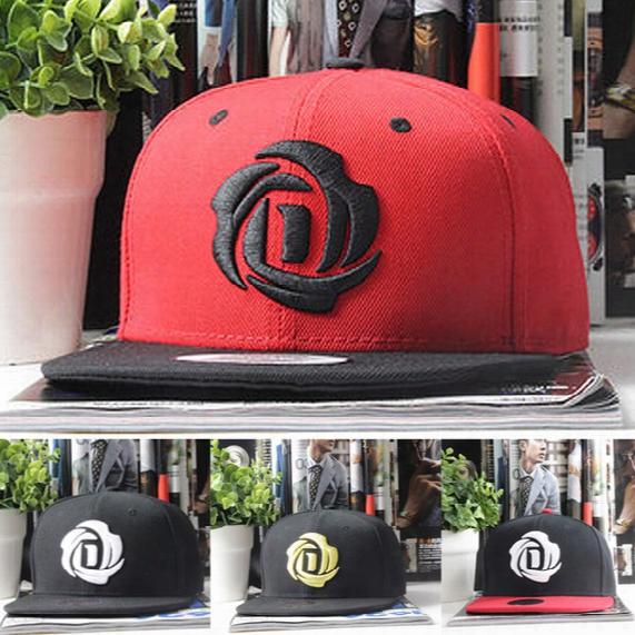 Wholesale-new Derrick Rose Chicago Adi Bboy Snapback Baseball Basketball Caps Chapeu Bones Sport Outdoor Fashion Hip Hop Hats Men Women