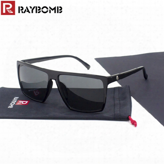 Wholesale-raybomb - 2016 Fashion Sunglasses Shield Frame Brand Designer Sun Glasses Fame Uv 400 Protection Dragon