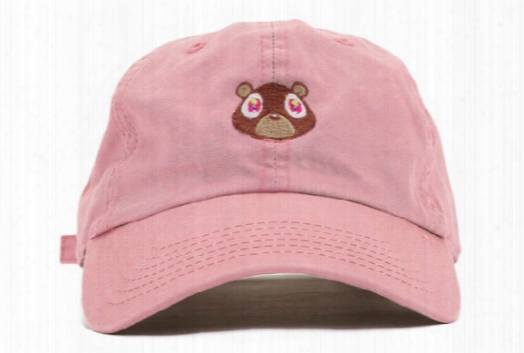 Wholesale Ripndip Hat Kanye West Dropout Bear Hat Drake Classic Gold Denim Snapback Cap Baseball Caps Casquette Hat