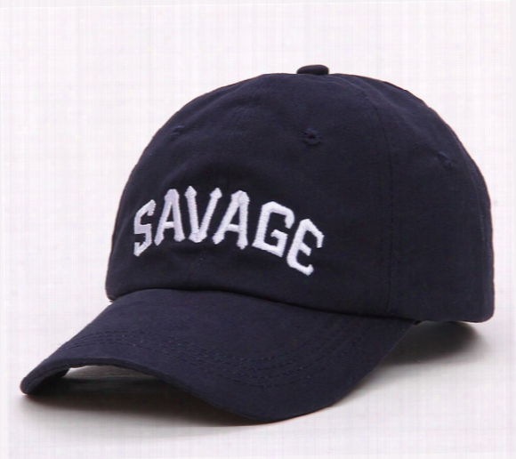 Wholesale- Savage Htas Brand Breathable Embroidery Men's Baseball Caps 2017 Summer Hip Hop Sun Hats For Women Men Snapback Dad Hat