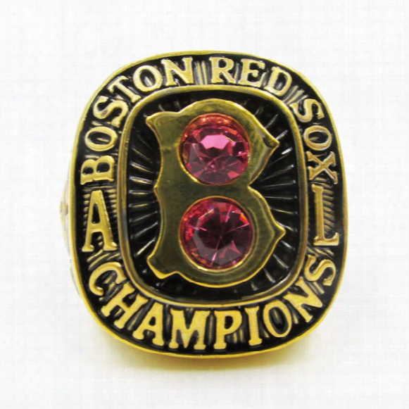1967 Boston Red Sox Major League Baseball Championship Ring Solid As Men Best Gifts High Quality