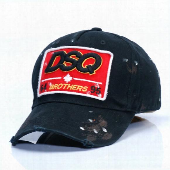 2017 New Dsq Baseball Cap Men And European Fashion 100% Cotton Casual Sport Hat Ladies Sun Hat 3 Colors