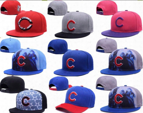 2017 New Mlb Chicago Cubs Baseball Caps Front Logo Alternate Adjustable Hat Icks Away Adult Sport Cap Snapback Bone Casquette Visor Dad Hat