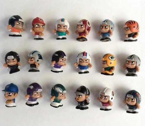 50pcs/lot Baseball Football Player Model Toy 2.5cm Kids Toy Model Figures Hobby Collectible Mix Random Sending