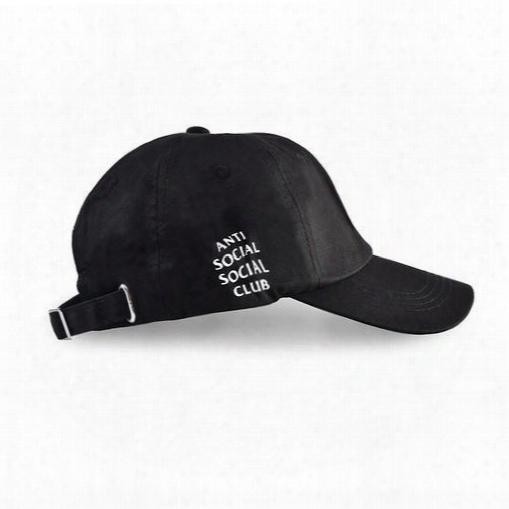 Anti-social Embroidery Baseball Caps Outdoor Sports Casquette Sun Fishing Hiking Hats Snapback Hip Hop Fashion Drake Caps