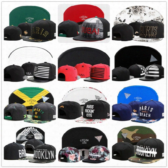 Cayler&sons Snapback Caps Hip Hop Hats Baseball Caps For Men Women Brooklyn Paris Cayler And Sons Brand Top Quality Snap Back Outdoor Sports