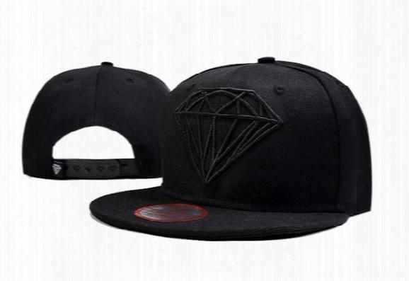 Cheap 2016 Diamonds Supply Snapback Hats Diamonds Supply Baseball Hats Flat Brim Cap Street Pop Adjustable Hats