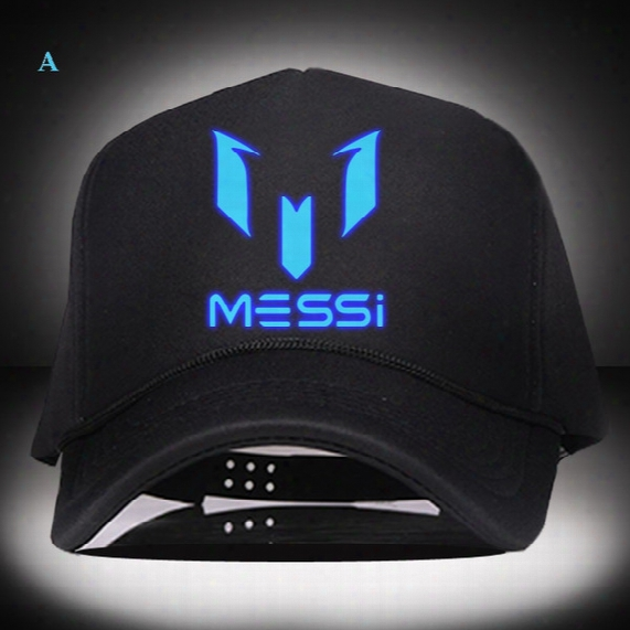Free Shipping Barcelona Messi Snapback Christmas Gift Fashion Baseball Caps Winter Summer Hats Football Hats For Men