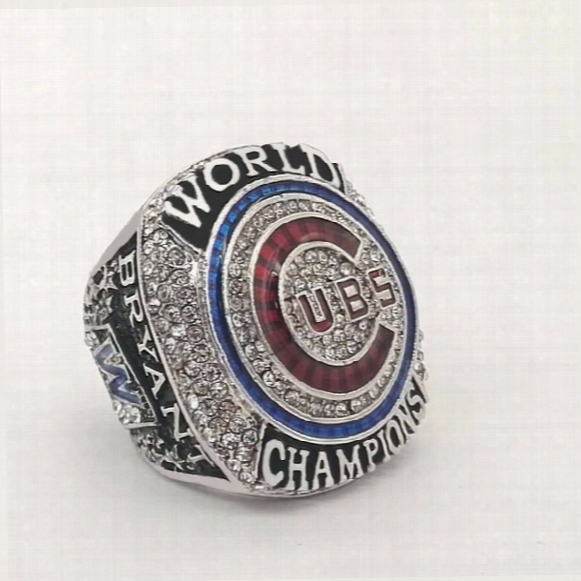High Quality 2016 Chicago Cubs Bryant  Baseball Championship Rings