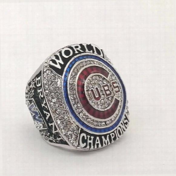 High Quality 2016 Chicago Cubs Bryant  Baseball Championship Rings