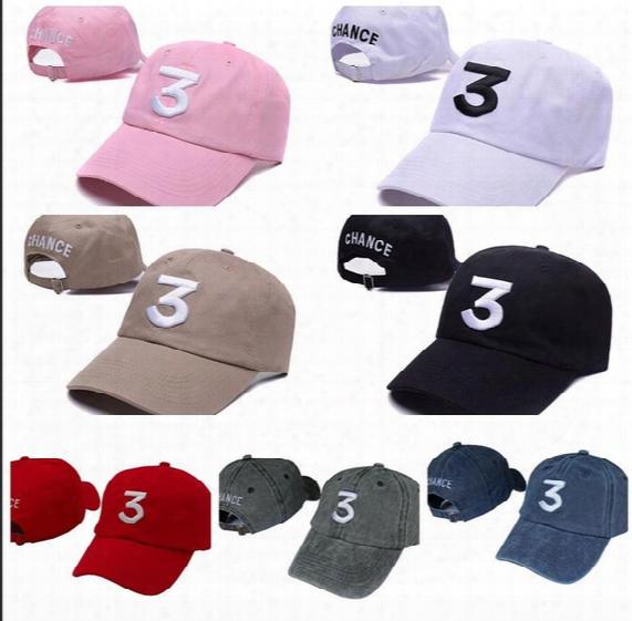 Hip Hop Chance The Rapper Chance 3 Cap Hat Letter Embroidery Baseball Cap Streetwear Strapback Snapback Gorras Casquette F458