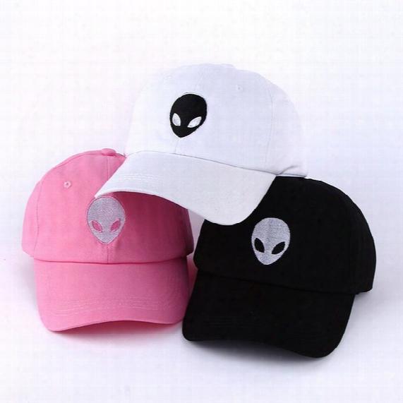 Hot Sales Aliens Outstar Saucer Space E.t Ufo Fans Black Fabric Baseball Caps Hat Sport Sun Hat Adult Men Women