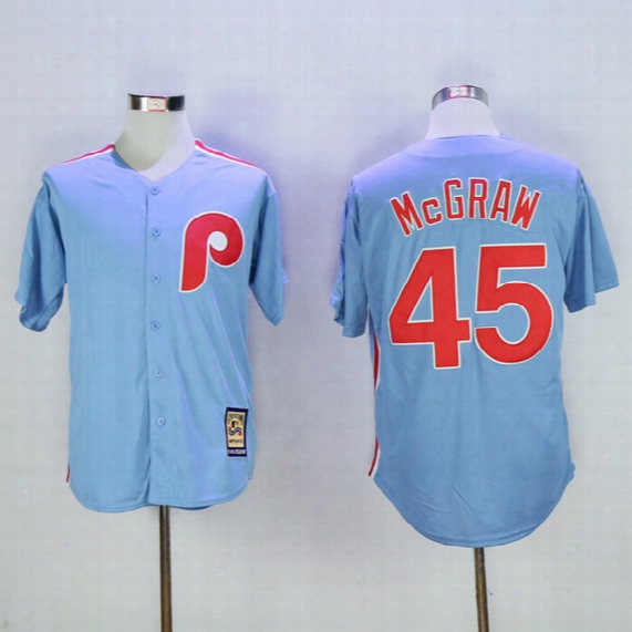 Man Philadelphia Phillies #1 Richie Ashburn #45 Tug Mcgraw 20 Mike Schmidt Mlb Baseball Jerseys Elite Coolbase Flexbase