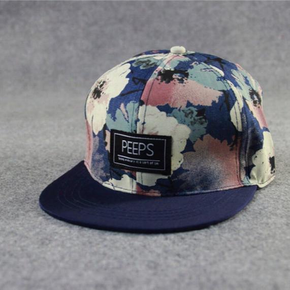 Men Women Fashion Peet Words Snapback Hat Hip-hop Baseball Caps Adjustable Sports Bboy Street Dance Hat