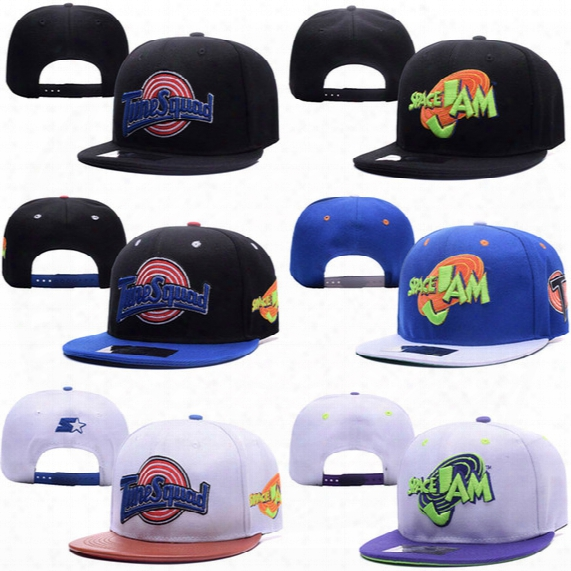 New Mbl Hats Snapback Cap Baseball Hat For Men Women Space Jam Design Casquette Sport Hip Hop Mens Women Basketball Cap Adjustable