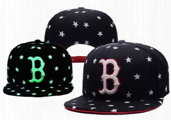 New Mlb Boston Red Sox Sports Caps Embroidered Team Logos Baseball Caps Casual Style Sport Adjustable Hats For Man Women With Box