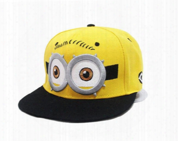 Parent-child Cap Despicable Me God Steal Dads Yellow Hat Winter And Autumn Hip-hop Cap Baseball Tide Of Children