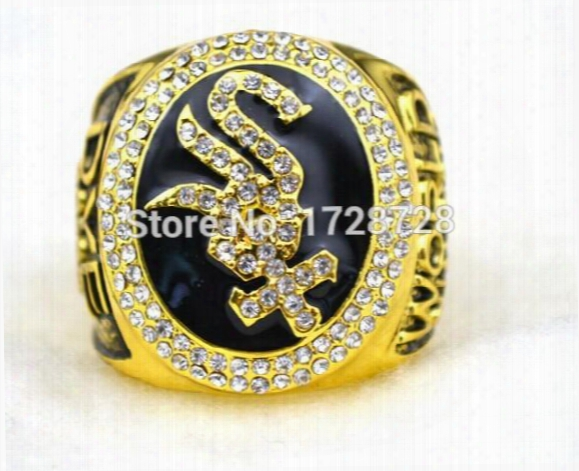 Replica 2005 Chicago Whi Te Sox Baseball Championship Rings Size 11 Solid Gift For Collection