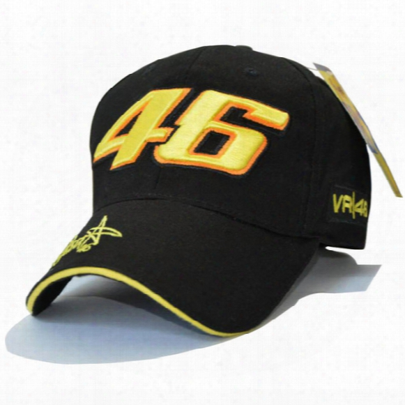 Snapbackk Caps Wholesale Rossi 46 Embroidery Baseball Cap Hat Motorcycle Racing Cap Vr46 Sport Baseball Cap For Men Free Shipping