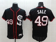 2017 New 35#THOMAS 45#JORDAN 49#SALE 1#EATON 79#ABREU 35#35THOMAS Baseball Jersey