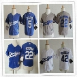 Baby Los Angeles Dodgers 22 Clayton Kershaw Cool Base Jersey Blue Stitched Baseball Toddler 42 Jackie Robinson 5 Seager Preschool Jerseys