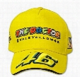 Wholesale-2015 the Doctor F1 racing cap Yellow cap VR46 Rossi Sign F1 Car Motorcycle embroidery sports Baseball bone gorra hat cap