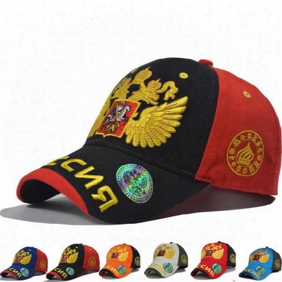 Wholesale 6 Colors New Fashion For Olympics Russia Sochi Bosco Baseball Cap Snapback Hat Sunbonnet Sports Casual Cap Man Woman Hip Hop