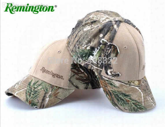 Wholesale-free Shipping 100% Cotton Fabric Camo Hunting Cap,tree Camo Hunting Fishing Baseball Cap Camo Hat,hunting Casquette